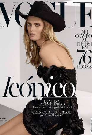 Vogue España April 2016 : Malgosia Bela by Miguel Reveriego