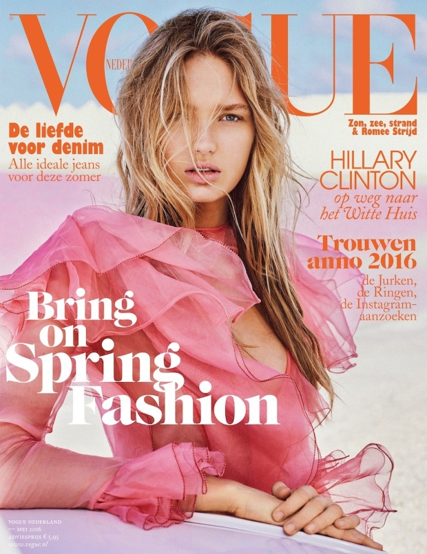 Vogue Netherlands May 2016 : Romee Strijd by Quintin de Briey