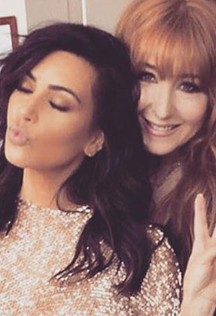 Kim Kardashian and Charlotte Tilbury talked makeup trends at the Vogue Festival.