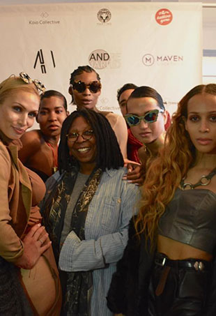 "Strut, a new Oxygen series executive produced by Whoopi Goldberg, will follow transgender models ""breaking down barriers"" in the fashion industry."