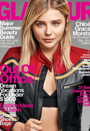 US Glamour June 2016 : Chloe Grace Moretz by Steven Pan
