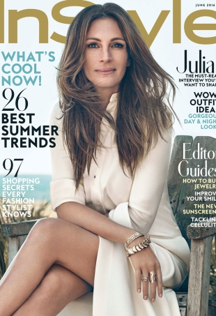 US InStyle June 2016 : Julia Roberts by Michelangelo di Battista