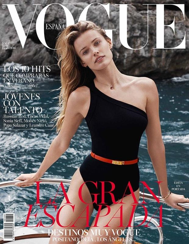 Vogue España June 2016 : Edita Vilkeviciute by Benny Horne