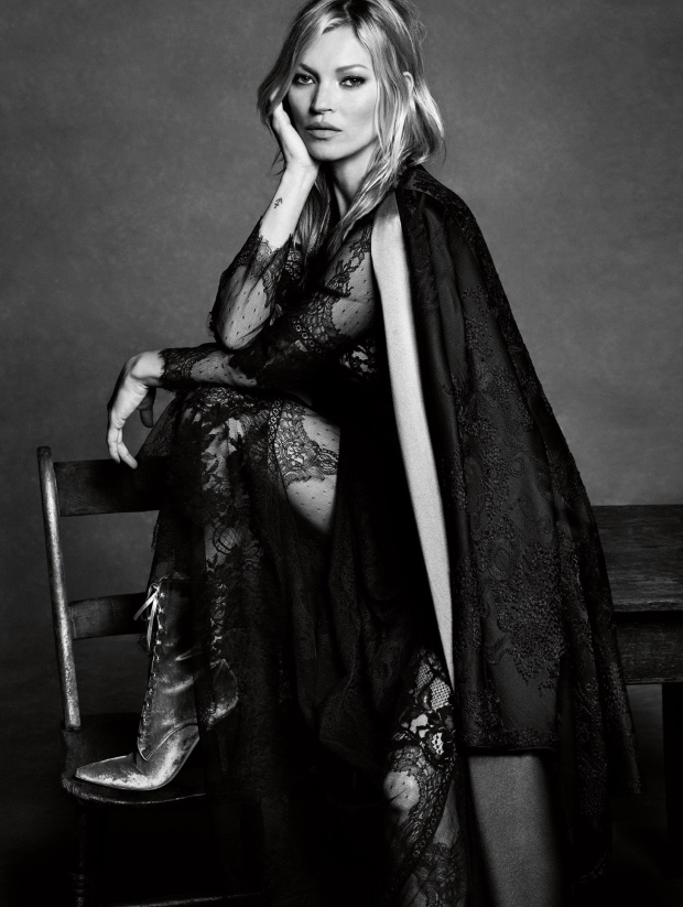 Alberta Ferretti F/W 2016.17 : Kate Moss by Luigi & Iango