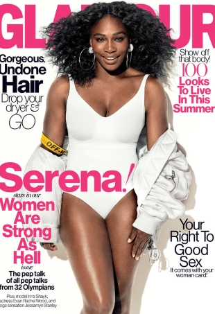US Glamour July 2016 : Serena Williams by Norman Jean Roy