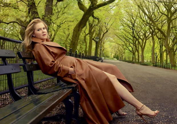 Amy Schumer Stars On Cover Of Us Vogue July 2016