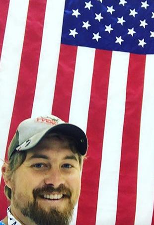 Olympian archer Brady Ellison aka Leonardo DiCaprio 2.0.