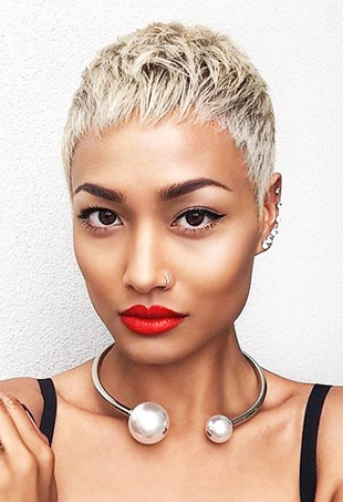 7 Platinum Blonde Hair Color Looks We Love Thefashionspot