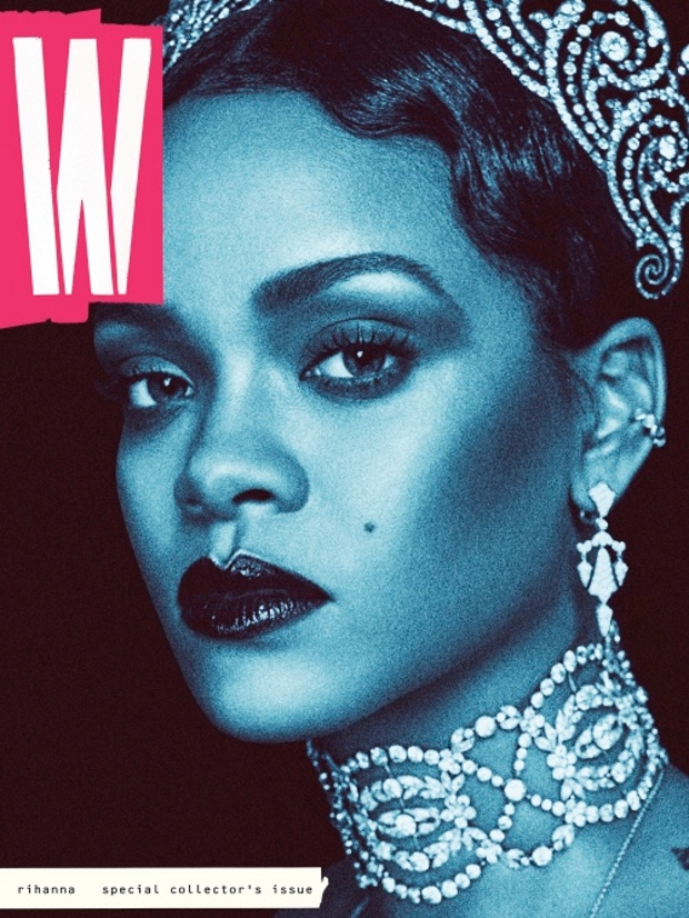 W September 2016 : Rihanna by Steven Klein