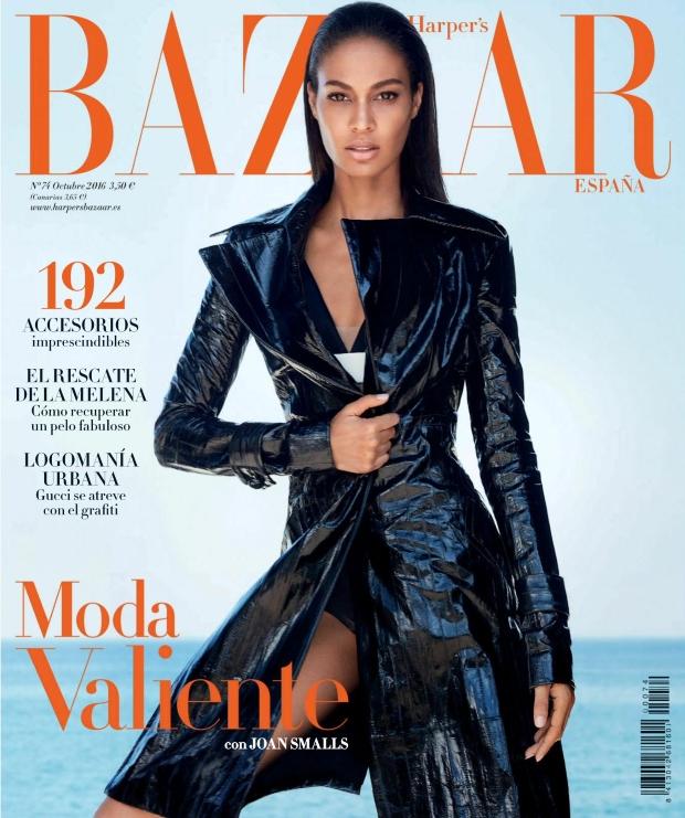 Harper's Bazaar España October 2016 : Joan Smalls by Txema Yeste