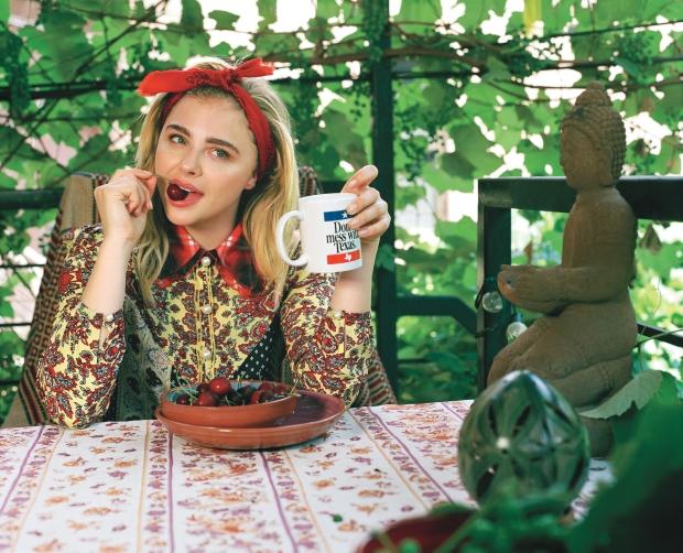 Teen Vogue Oct/Nov 2016 : Chloe Grace Moretz & Brooklyn Beckham by Bruce Weber