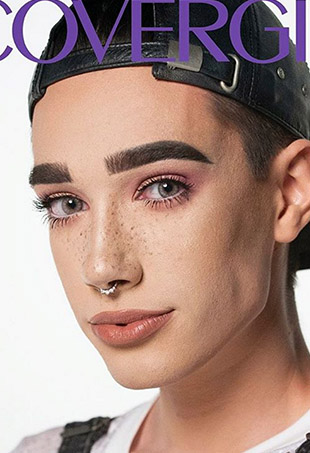 James Charles is the first-ever CoverBoy.