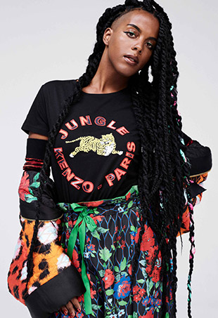 Juliana Huxtable for Kenzo x H&M