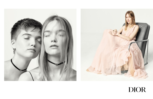 Christian Dior S/S 2017 : May & Ruth Bell by Brigitte Lacombe