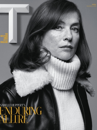 T Magazine Holiday 2016 : Isabelle Huppert by Craig McDean
