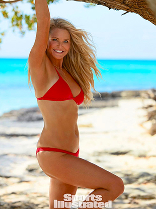 Christie Brinkley poses for Sports Illustrated's 2017 Swimsuit Issue.