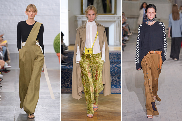 Tibi Spring 2017, Valentino Spring 2017, Y/Project Spring 2017; Images: Imaxtree