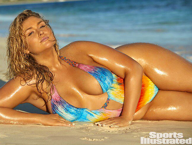 05ddc03844db0 Sports Illustrated Swimsuit Issue 2017 Features Curviest Model Ever -  theFashionSpot