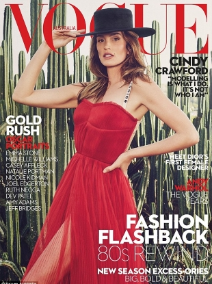 Vogue Australia March 2017 : Cindy Crawford by Emma Summerton