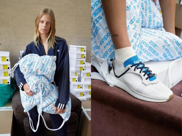 Lexi Boling for Alexander Wang x Adidas Originals.