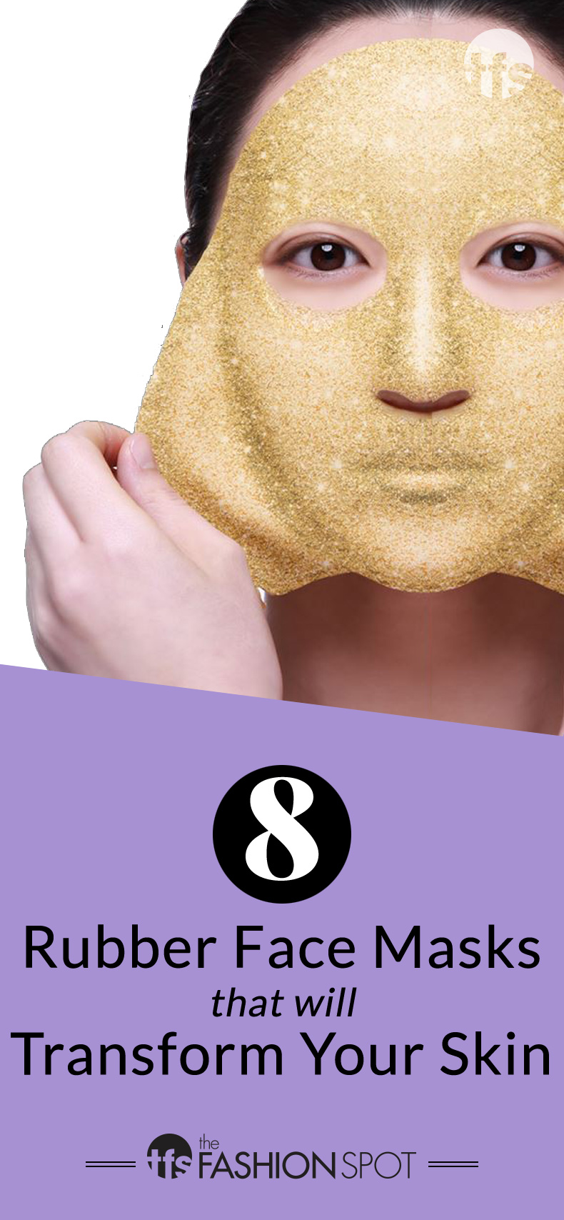 Modeling Rubber Masks Are Even Better Than Sheet Masks