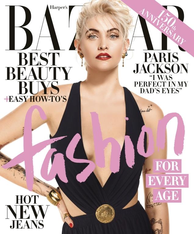 US Harper's Bazaar April 2017 : Paris Jackson by Jean-Paul Goude