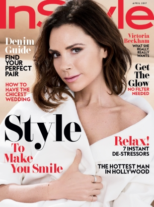 US InStyle April 2017 : Victoria Beckham by Pamela Hanson