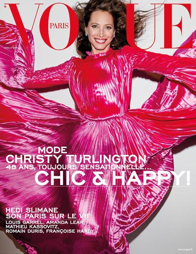 Vogue Paris April 2017 : Christy Turlington by Inez van Lamsweerde & Vinoodh Matadin