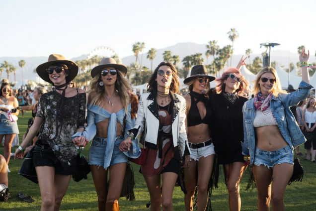 Alessandra Ambrosio and co. at Coachella 2017.