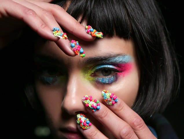 nail art from the spring 2016 runways