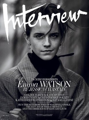 Interview May 2017 : Emma Watson by Peter Lindbergh