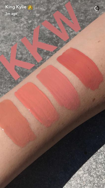 The KKW x Kylie shades.