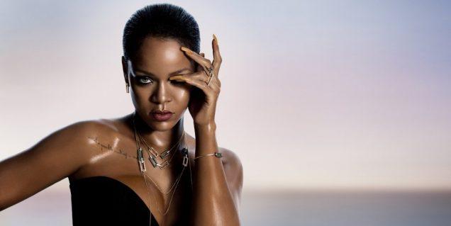 Rihanna for Chopard.