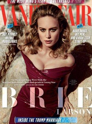 Vanity Fair May 2017 : Brie Larson by Inez van Lamsweerde & Vinoodh Matadin