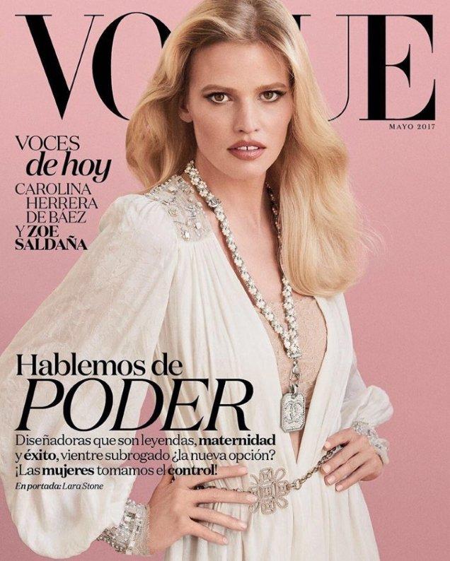 Vogue Mexico & Latin America May 2017 : Lara Stone by Giampaolo Sgura