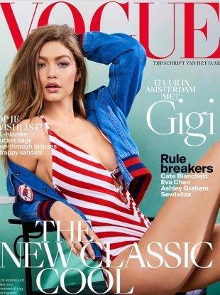 Vogue Netherlands May 2017 : Gigi Hadid by Serge Leblon