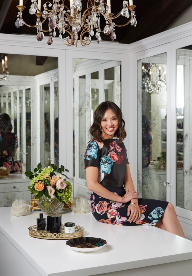 Lisa Adams, CEO of LA Closet Design and founder of lifestyle blog CLOSETPHILE.