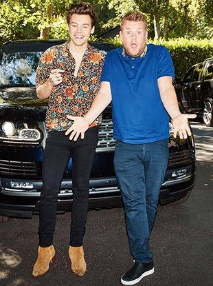 """Watch Harry Styles' """"Carpool Karaoke"""" clip."""
