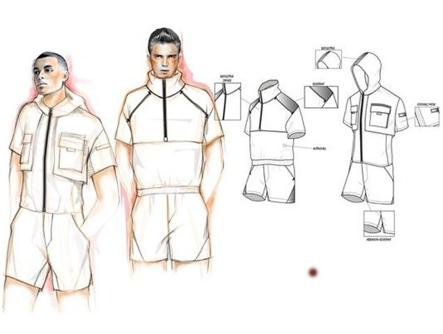 Preliminary sketches of the ReeRomp; Image: Reebok
