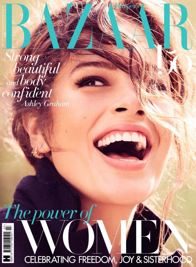 UK Harper's Bazaar July 2017 : Ashley Graham by Alexi Lubomirski