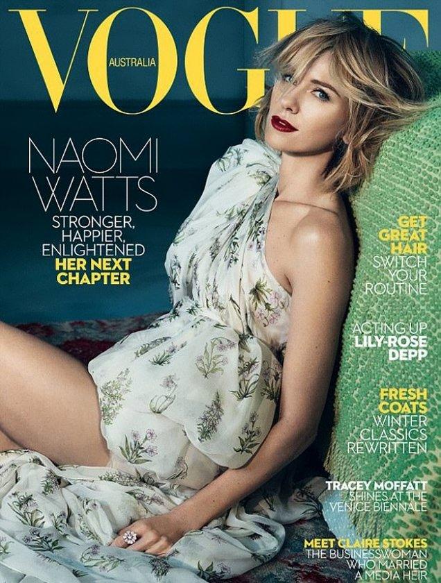 Vogue Australia June 2017 : Naomi Watts by Emma Summerton