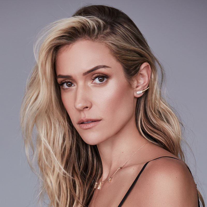 Kristin Cavallari wears her Uncommon James dagger earrings