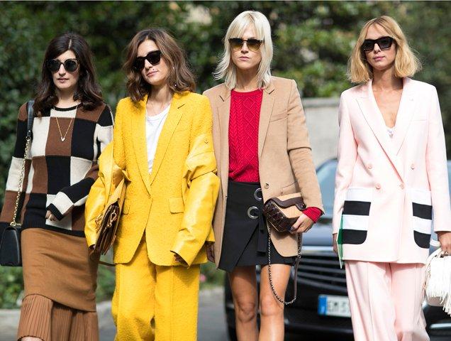 Power outfits at Milan Fashion Week Spring 2017