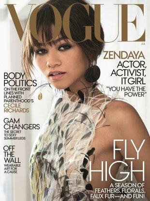 US Vogue July 2017 : Zendaya by Mario Testino