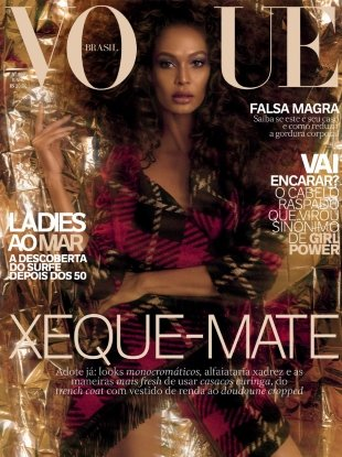 Vogue Brazil June 2017 : Joan Smalls by Zee Nunes