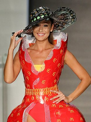 A look from the McDonald's 2017 McDCouture show at Miami Swim Week.