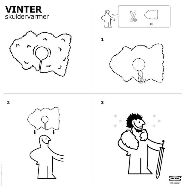IKEA-Jon-Snow-Cape-Instructions