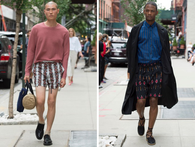 Rachel Comey unisex looks for Spring 2017.