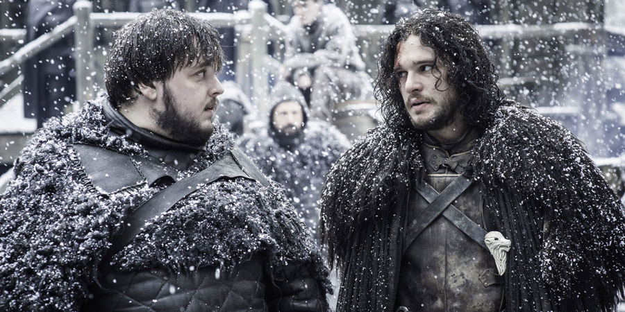 Jon Snow wears IKEA rug cape on Game of Thrones