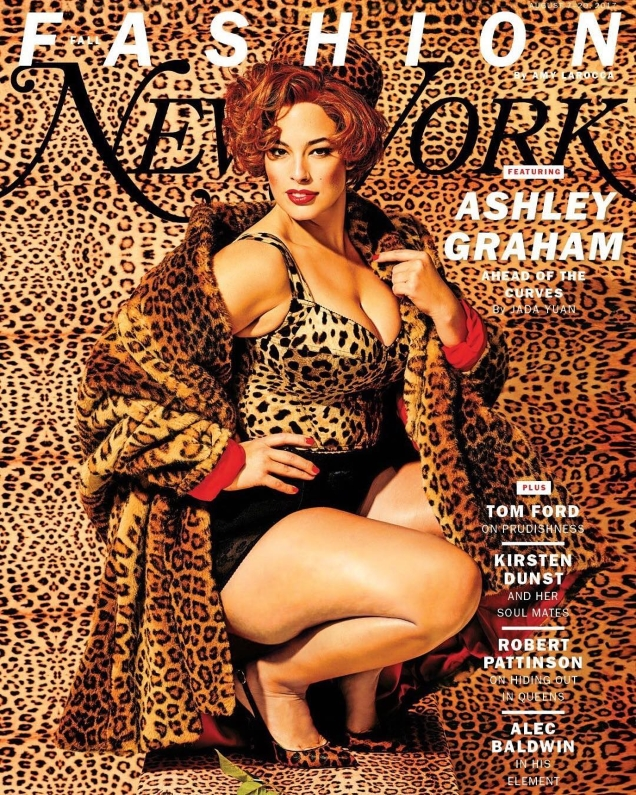 New York Magazine Fall Fashion 2017 : Ashley Graham by Maurizio Cattelan & Pierpaolo Ferrari